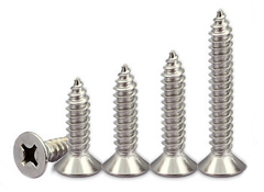 Countersunk head self-tapping screws