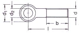 DIN 444 technical drawing