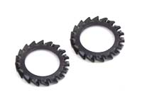 DIN 6798A serrated lock washers