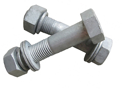 Hot Dip Galvanized Hex Head Bolts Sets