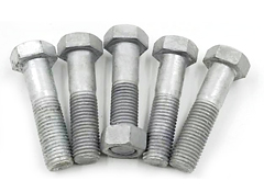 Hot Dip Galvanized Hex Head Bolts