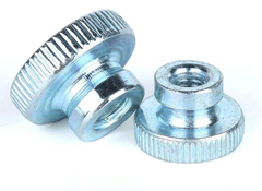 Knurled Thumb Nuts with collar