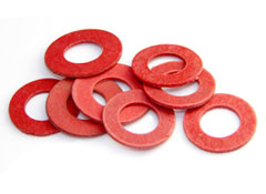Red Fibre Insulation Gasket Washer