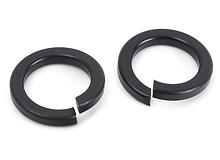 spring washers black oxide
